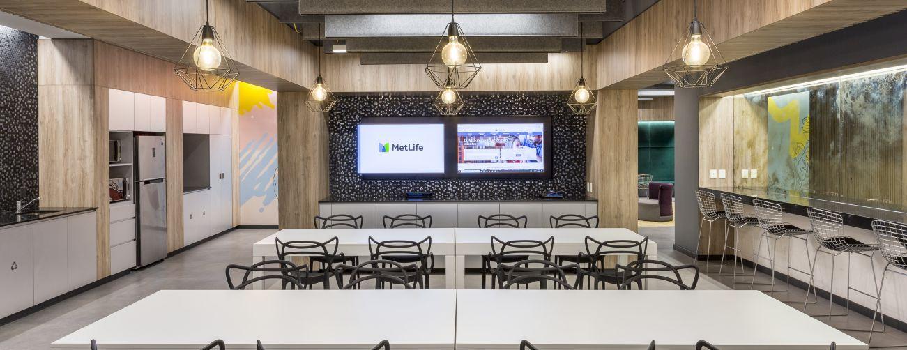 cafeteria corporativa